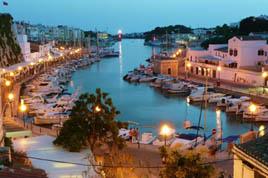 Vuelos baratos Mallorca: vista del muelle de Palma.